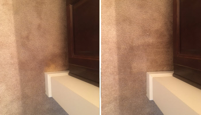 Carpet Repair - Before & After